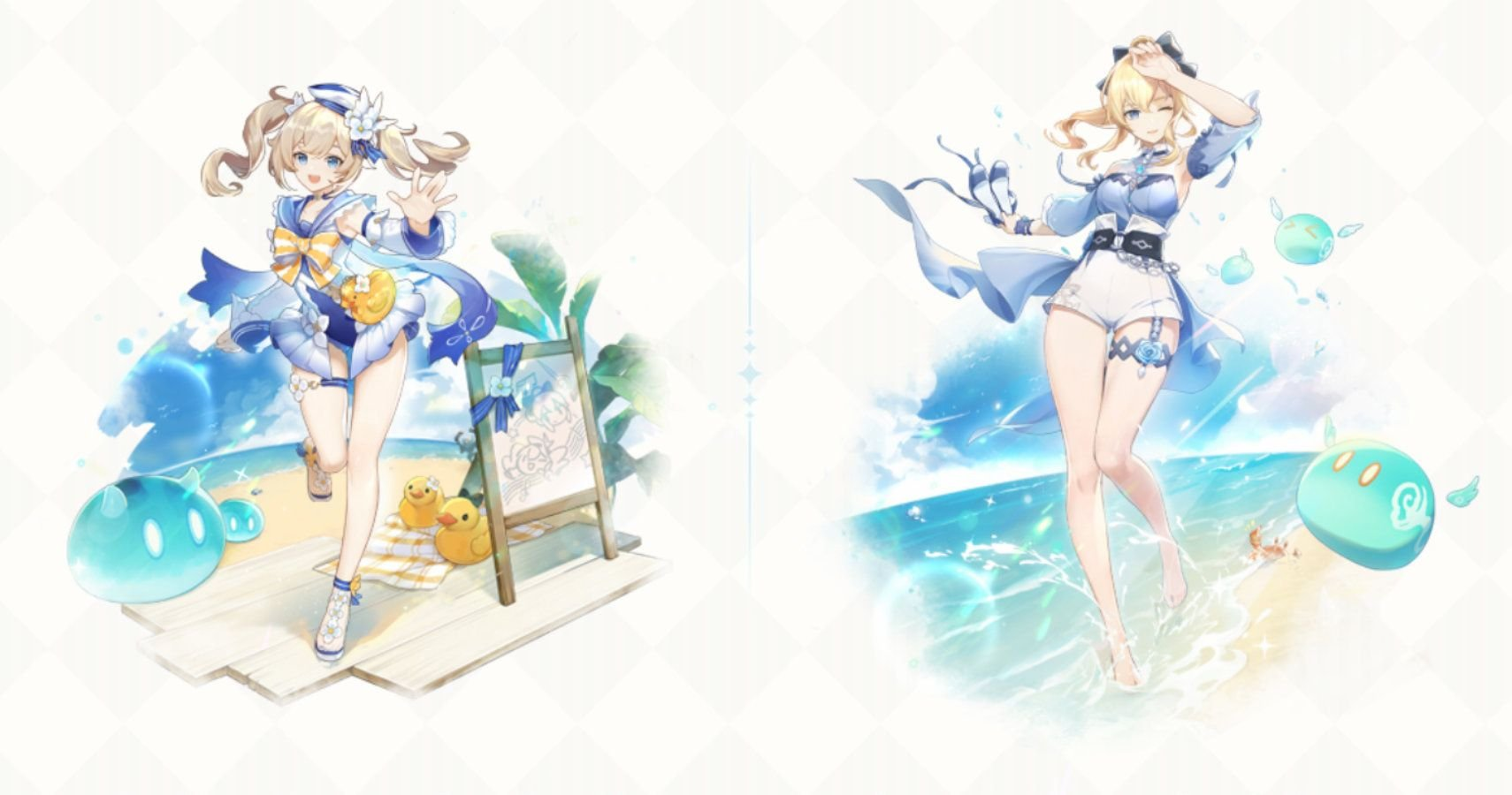 Genshin Impact: How To Get Jean And Barbara's Summer Outfits
