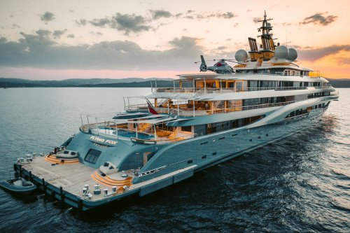 I'm on a boat! How the superyacht returned to the top of the pecking order   The Gentleman's Journal