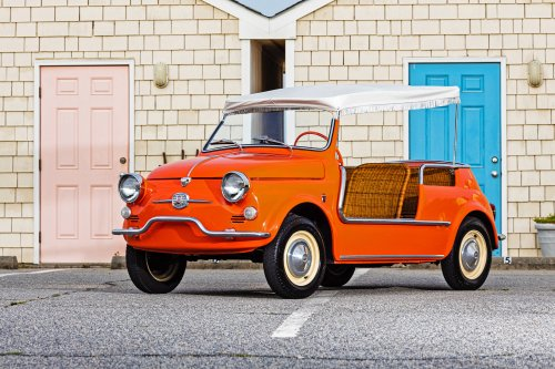 Is a vintage Fiat 500 Jolly the perfect small car for summer?