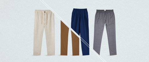 These lightweight summer trousers are perfect for a heatwave