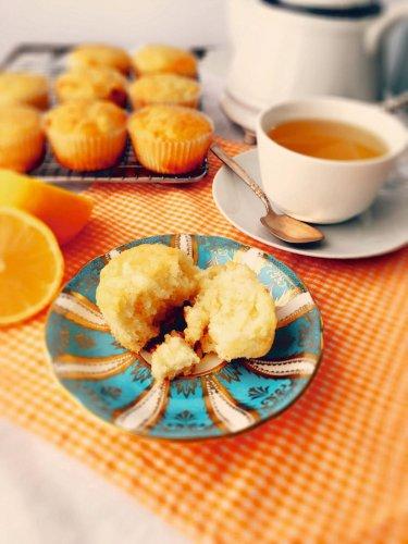 Recipe: Lemon and cream cheese muffins