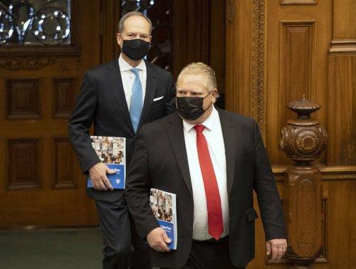 Doug Ford faces rebuke over Ontario's COVID-19 pandemic spending