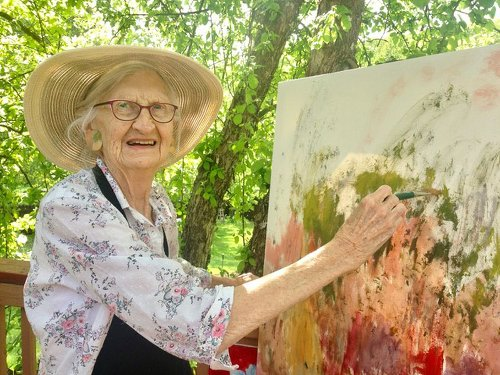 Painter and quilter Beulah Limber thrived in Fernie, B.C.'s artistic community
