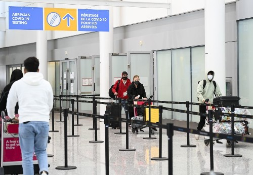 Vast majority of Canadians support tighter restrictions on international travel, new poll suggests