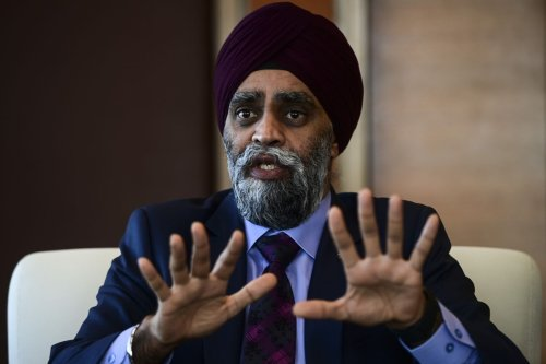 Harjit Sajjan will consider future funding for Halifax forum