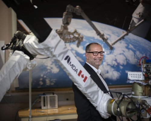 Canadarm maker sees growth potential in industry