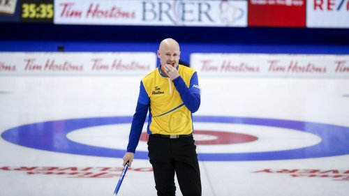 Wild Card Two's Kevin Koe beats Brad Gushue 9-7 to hand defending champs first loss at the Brier