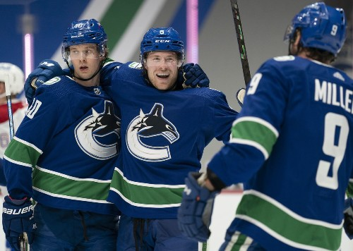 Horvat lifts Canucks to 6-5 shootout win over Canadiens