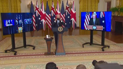Canada caught off guard by new security pact between U.S., Australia and Britain