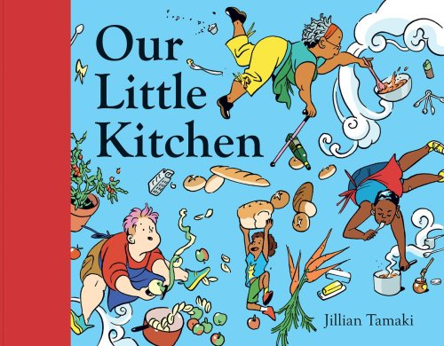 When cooking fatigue had set in, these children found inspiration for their mom in the pages of a picture book