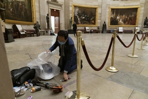 U.S. Capitol riot sparks a Republican reckoning