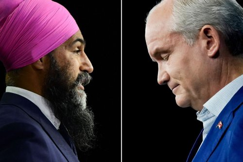 Opinion: Why the knives are out for Erin O'Toole, but not Jagmeet Singh
