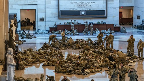 Video: National Guard stationed at U.S. Capitol amid security concerns