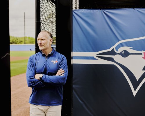 Mark Shapiro has faced many curve balls since coming to Toronto, but this season, he's ready for a big hit