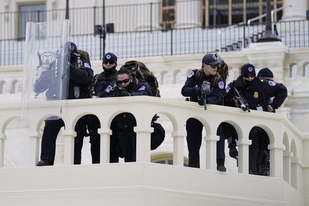 Debra Thompson: The insurrection in Washington shows police decide who to protect and to serve