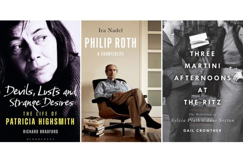Five new literary biographies examine the lives of writers including Philip Roth, Anne Sexton and Sylvia Plath