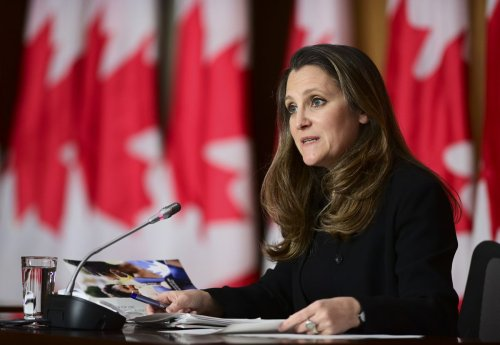 Freeland says Canada's housing supply needs a boost to make prices affordable