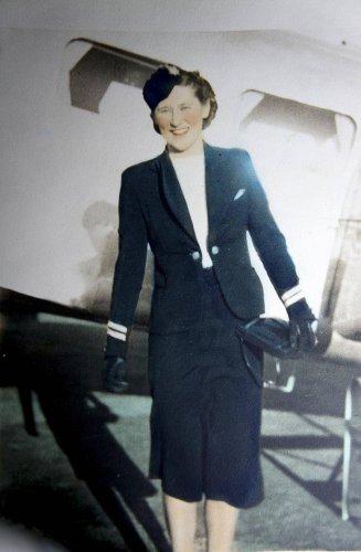Lucile Garner was Canada's first airline stewardess