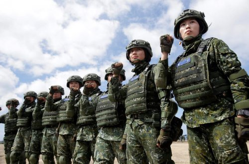In Taiwan's standoff with China, a tilting balance of power puts the island on edge