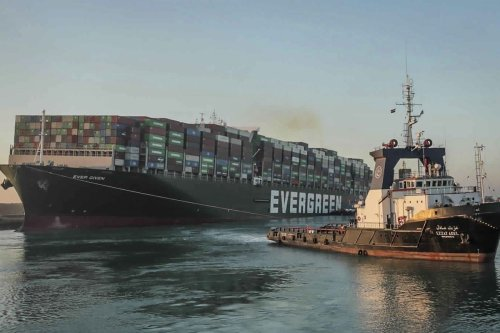 Egyptian court upholds seizure of container ship that blocked Suez Canal