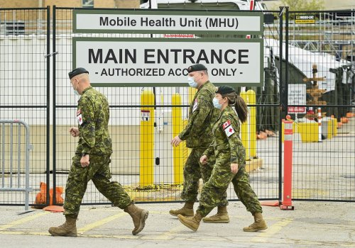 Senior army commander says 90 per cent of military personnel are fully vaccinated
