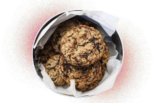 Recipe | Black forest oat cookies