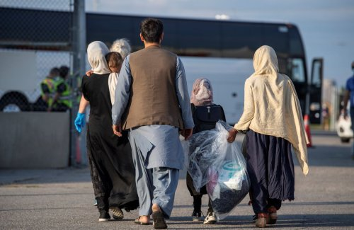 More than 250 Afghan refugees, many of them young girls, arrive in Calgary