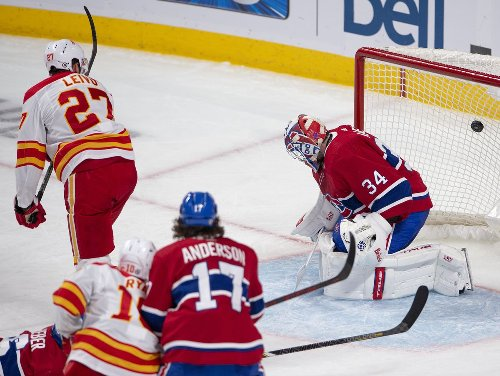 Flames put playoff pressure on Canadiens with 4-1 win over Habs
