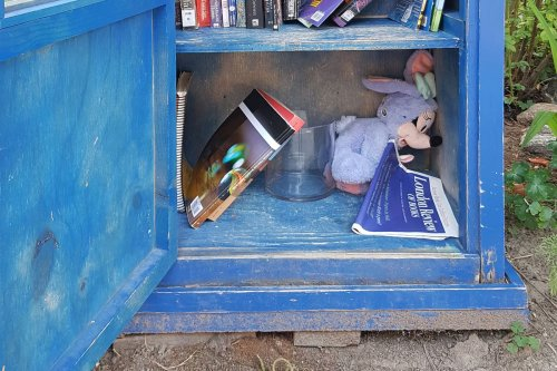 Opinion: My summer of castoff reading: A literary tour of Toronto's curbside little libraries