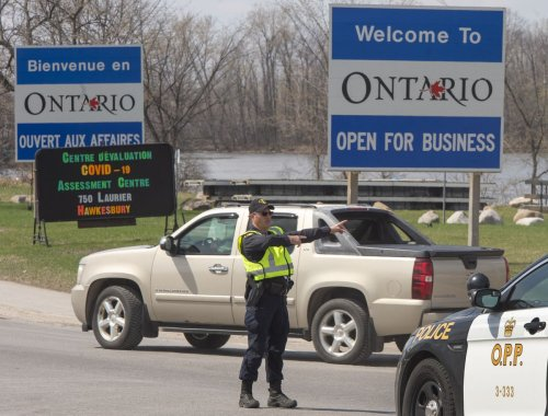 COVID-19 news today: Ontario order limiting travel from Quebec and Manitoba expires