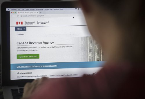The CRA is focusing online to collect taxes