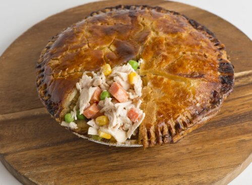 What's the secret to a great chicken pot pie?