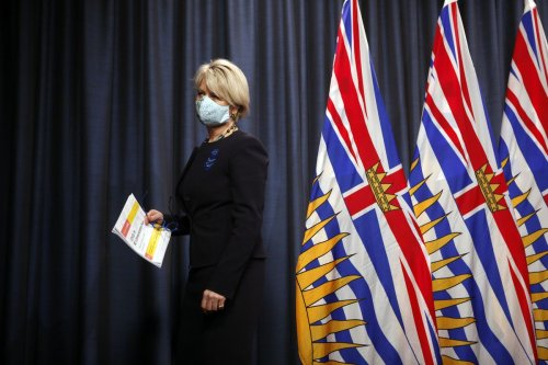 B.C. hospitalizations due to COVID-19 reach record of 397