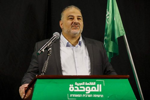 How a small Arab-Israeli party emerged as potential kingmaker in the anti-Netanyahu coalition