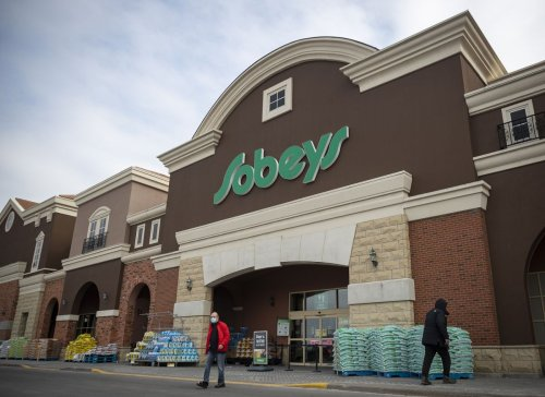 Sobeys parent Empire posts first sales decline in a year as grocers brace for postpandemic shift in consumer habits