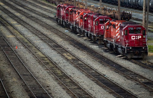 Canadian Pacific Railway announces five-for-one stock split, share repurchase program