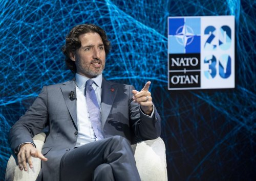 Trudeau in Brussels for NATO meeting, then Canada-EU summit