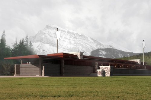Hey Banff, about that Frank Lloyd Wright building? Build it, and they will come
