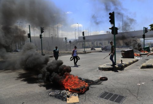Lebanon workers stage general strike over escalating crises