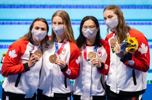 Penny Oleksiak becomes Canada's most decorated Olympian as swim team finishes Tokyo Olympics with sixth medal