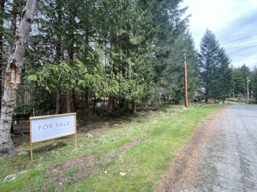 Three bids for empty, unserviced Mayne Island lot
