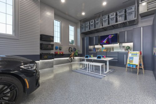 Canadian suburbanites are remodeling their garages into living spaces
