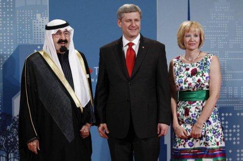 Opinion: Stephen Harper's Saudi odyssey is true to form