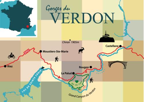Canyon du Verdon – die wilde Ecke der Provence