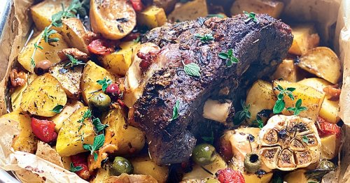 Greek Slow Roasted Leg of Lamb In Parcel- Kleftiko