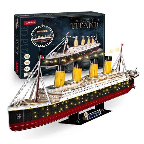 Titanic 3D Puzzle w/ LED Lighting