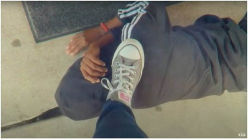Texas teacher's 'staged photo' of foot on student's neck sparks apology