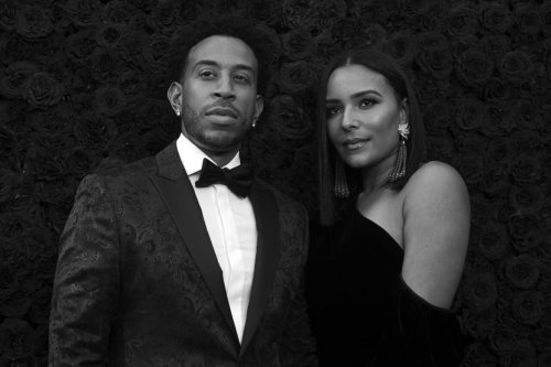Eudoxie and Ludacris celebrate #EudoxieBabyBloom baby shower