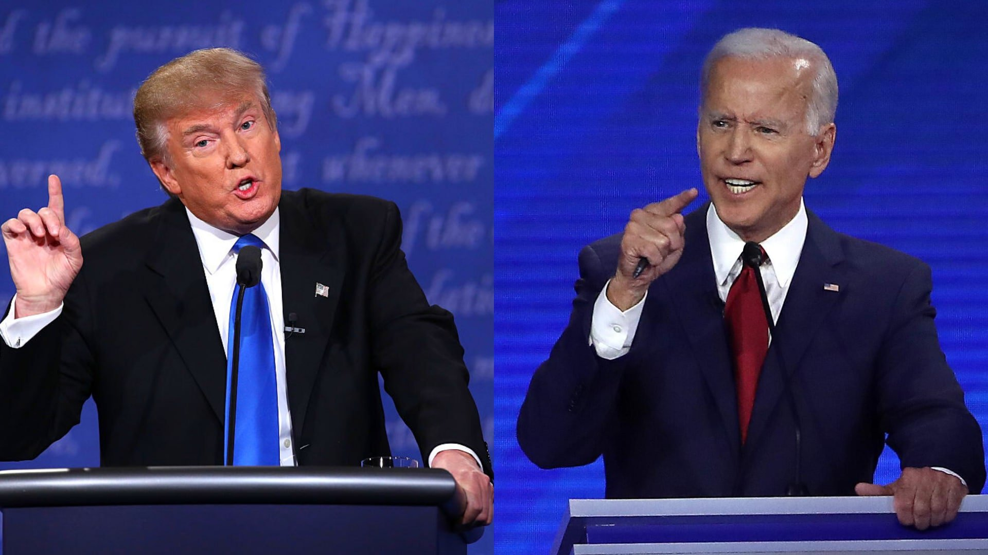 Trump and Biden trade barbs over coronavirus response, masks