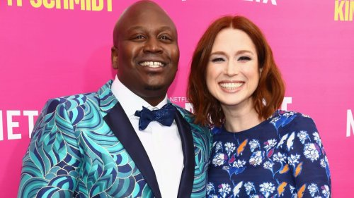 Tituss Burgess responds to co-star Ellie Kemper's apology over 'racist' ball